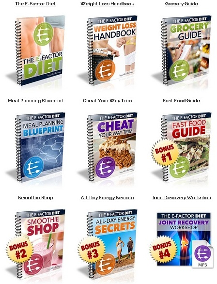 The E-Factor Diet – Review John Rowley's Plan