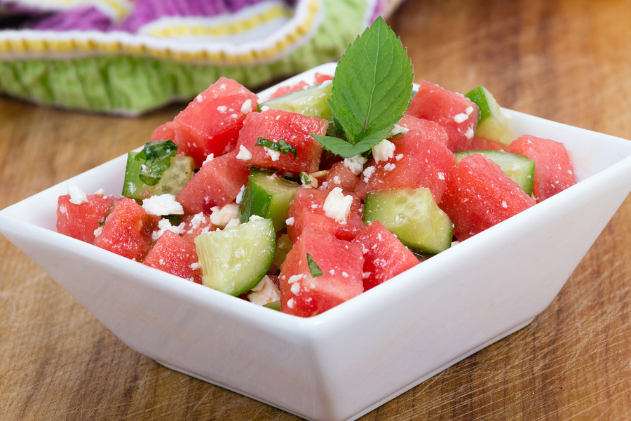 short term watermelon diet salad