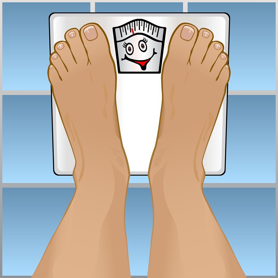 watermelon diet and weight on a bathroom scale