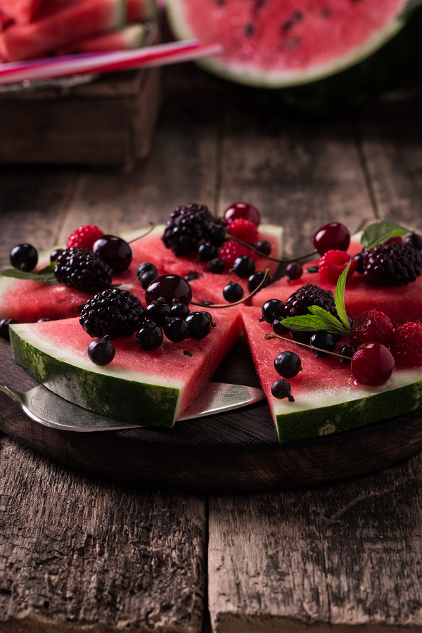 watermelon pizza for short term diet