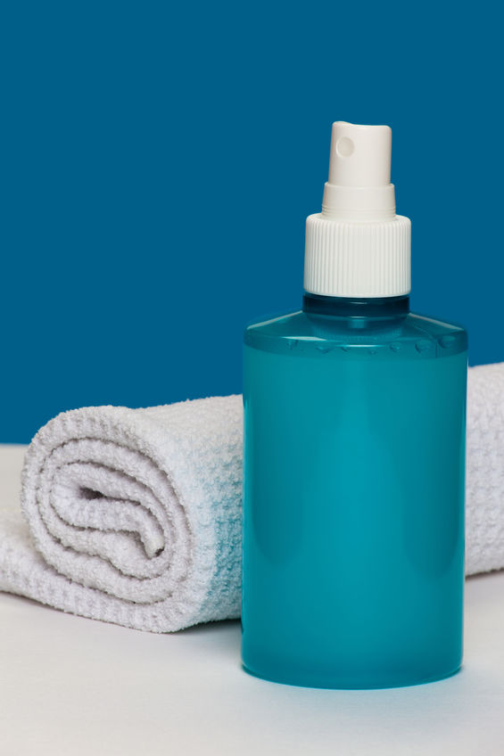 Soothing homemade spray for eczema