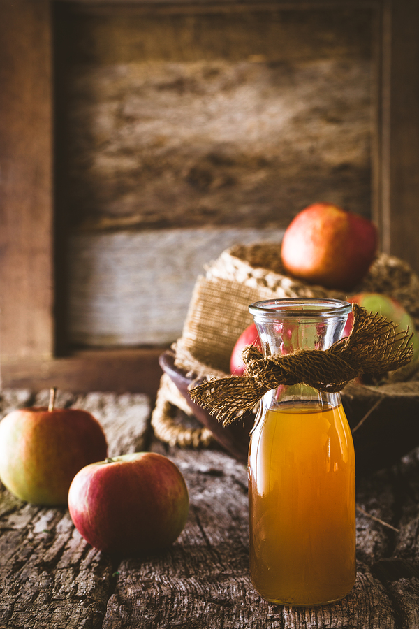 apple cider vinegar used as eczema remedy