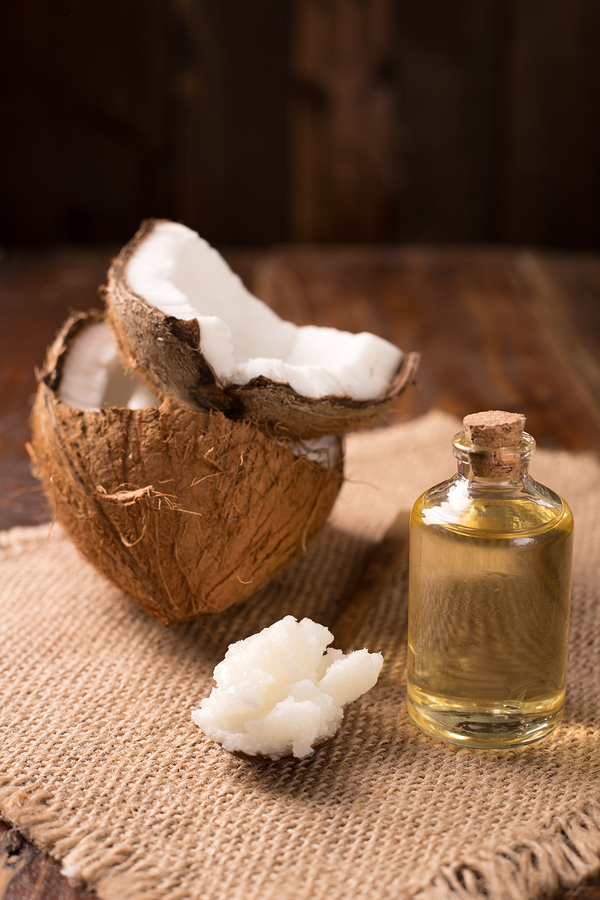 coconut oil for eczema