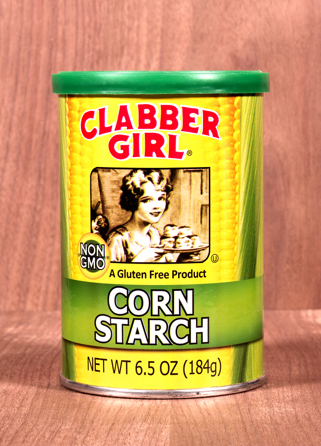 corn starch for eczema