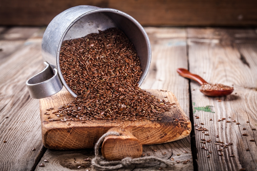 flaxseeds used as eczema diet
