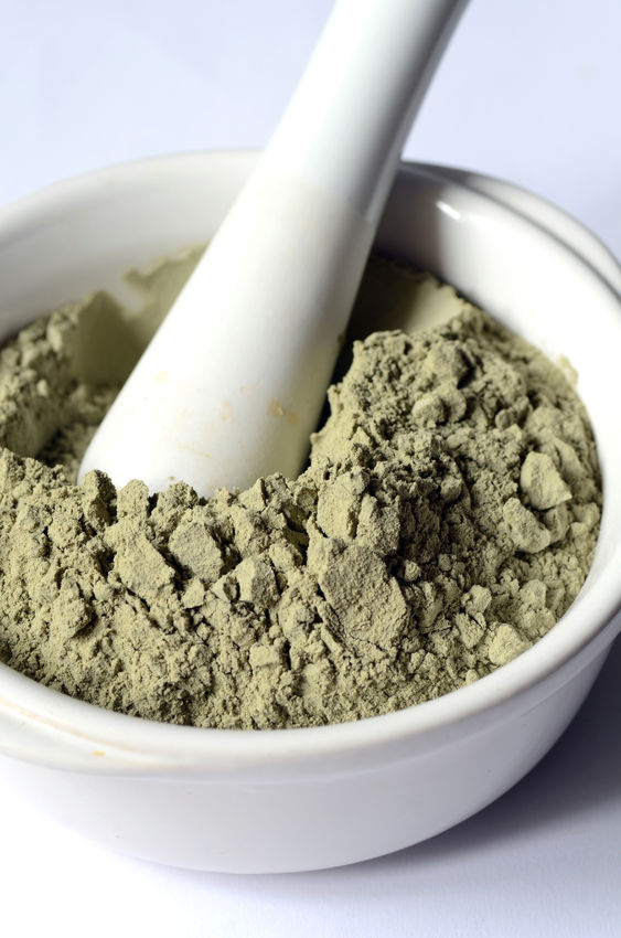 green clay for eczema