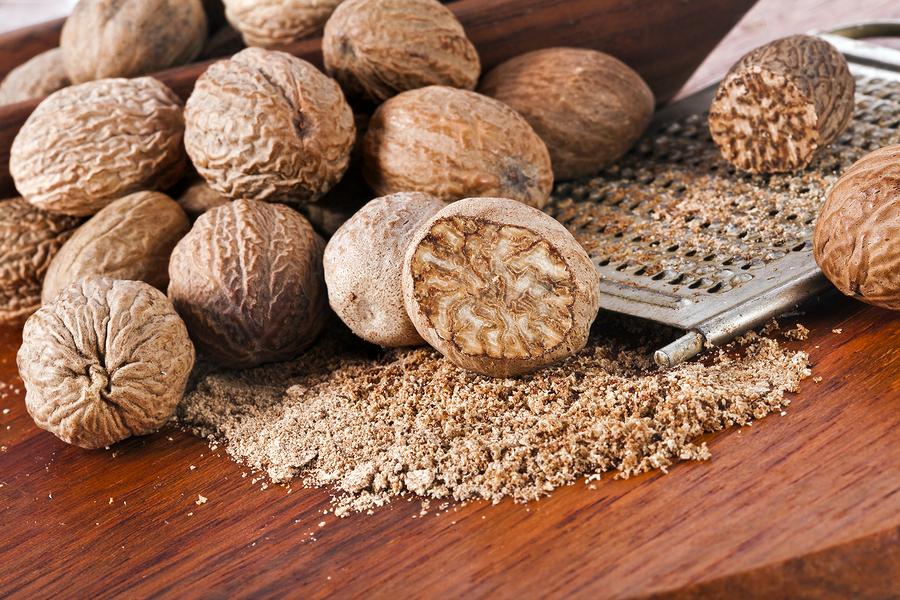 ground nutmeg as remedy for eczema