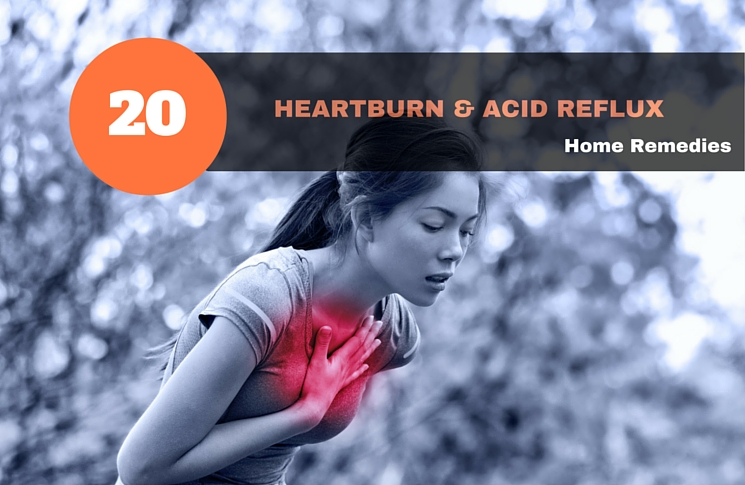 How To Get Rid Of Heartburn & Acid Reflux: 20 Raw Remedies