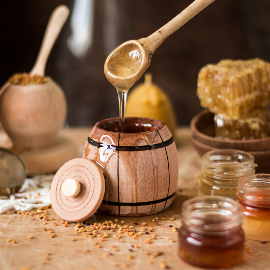 how to get rid of eczema with honey