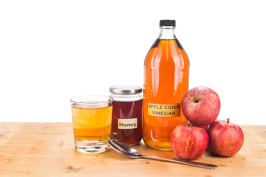 Apple Vinegar and Honey for toenail fungus