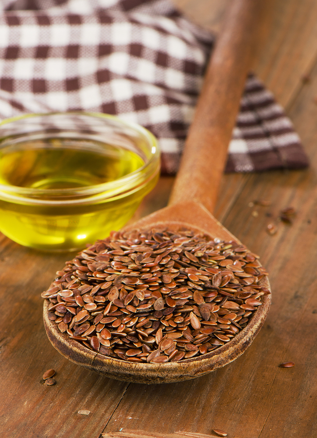 Brown Flax Seeds And Oil For Constipation