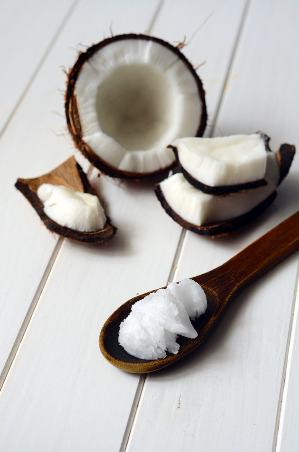 Coconut With Coconut Oil For Constipation Relief