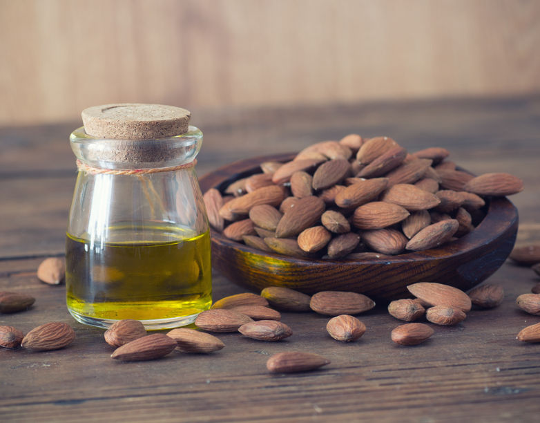 almond oil for a cough