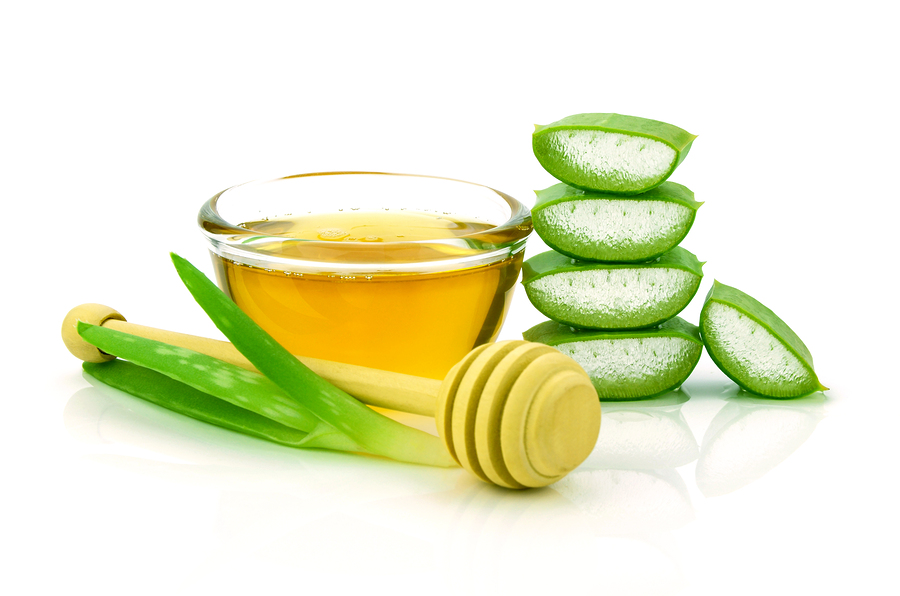 aloe vera and honey for sore throat
