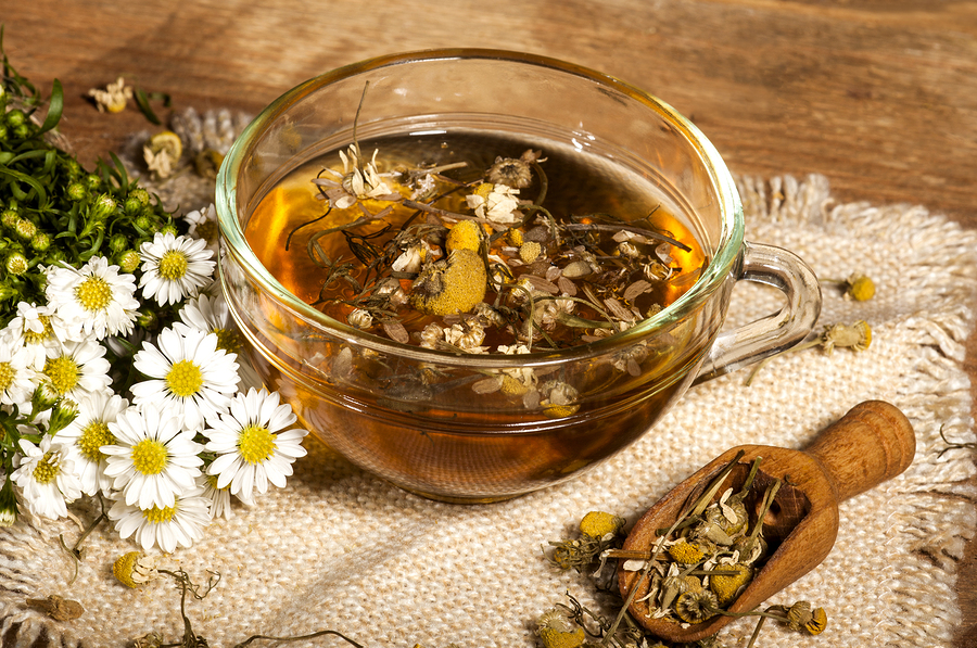 chamomile tea used as home remedy for acne