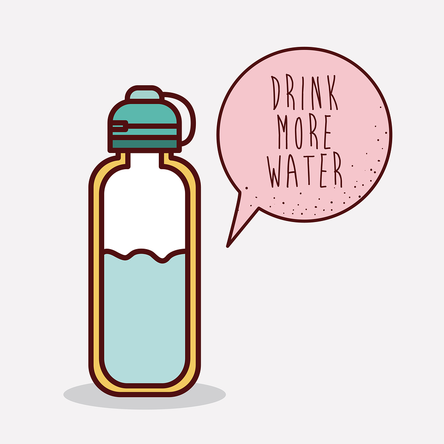 drink more water to stop acid reflux