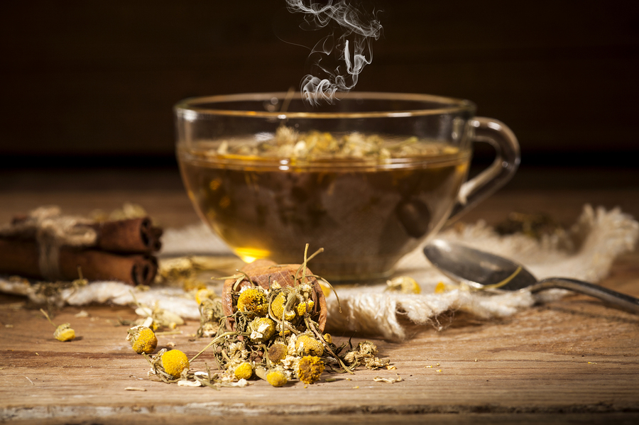 gargle for gingivitis using chamomile tea