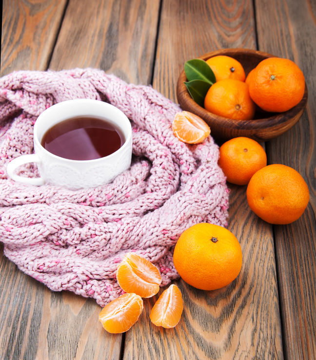 home remedy for cough using tangerine peel tea
