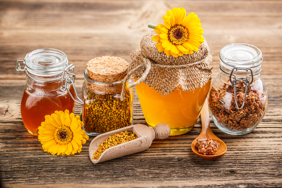 honey products for sore throat