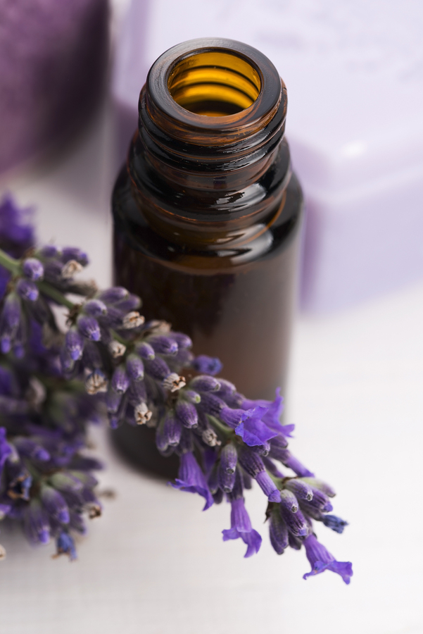 lavender essential oil as sunburn home remedy