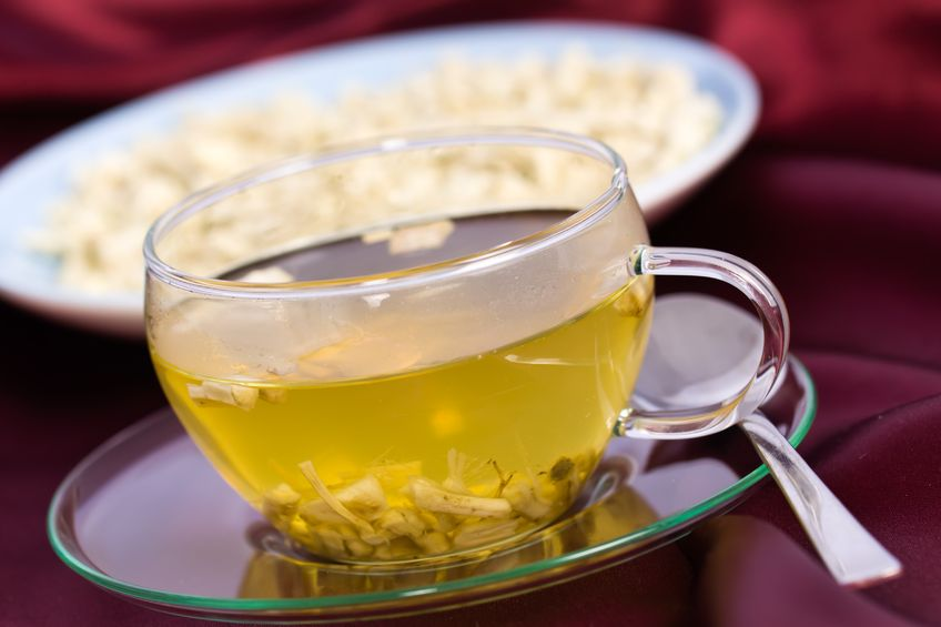 marshmallow root tea for a sore throat
