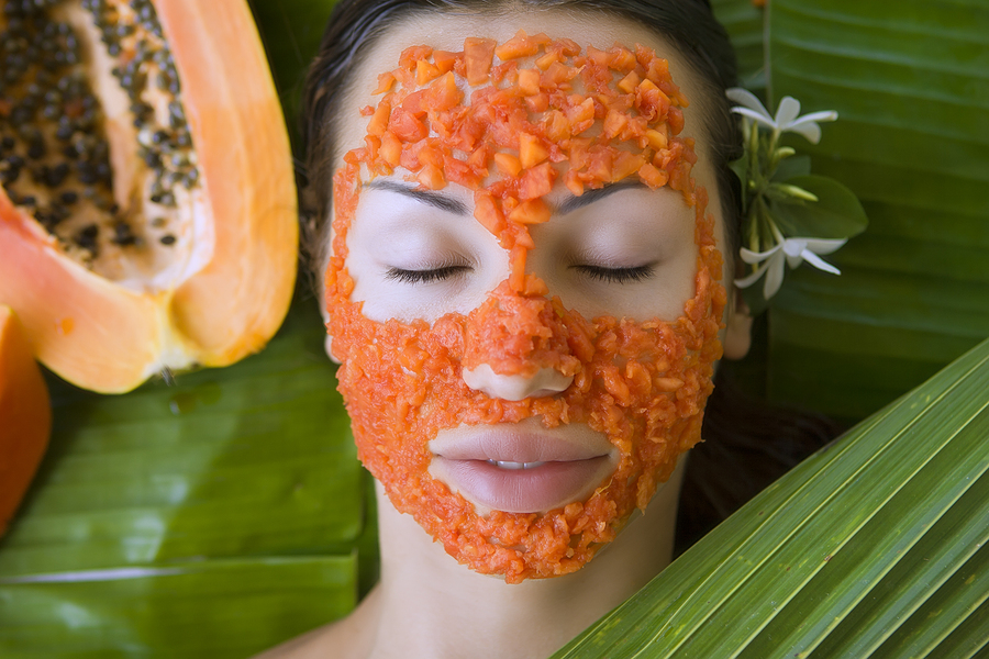 papaya face mask for acne