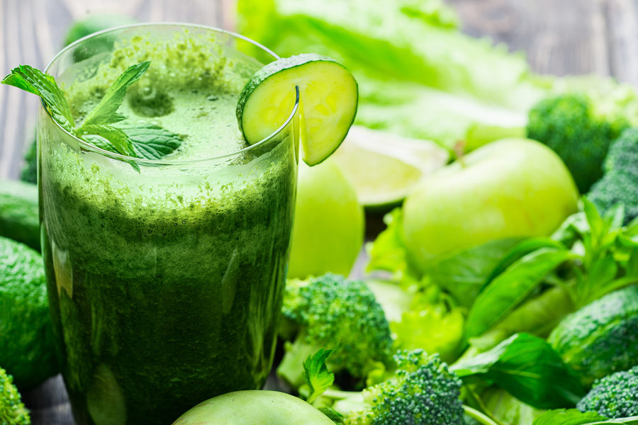 spinach green smoothie for heartburn