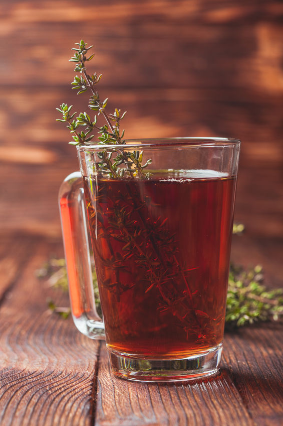 thyme leaves tea for cough