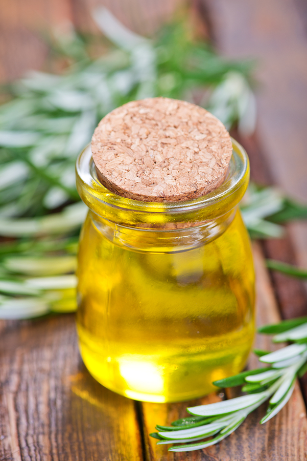 Rosemary oil for scabies