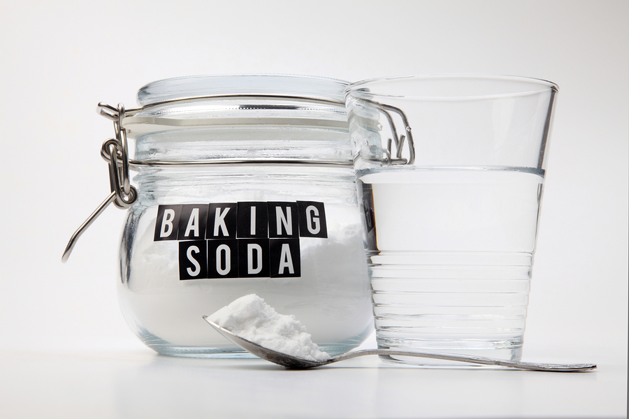 baking soda with water used to get rid of vaginal odor