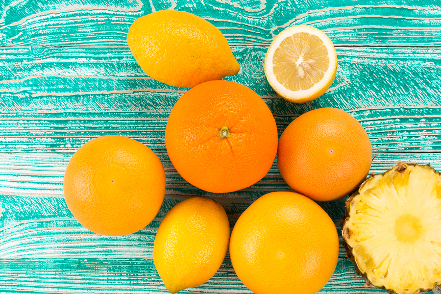 citrus fruits for vaginal odor