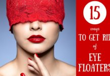 how to get rid of eye floaters fast