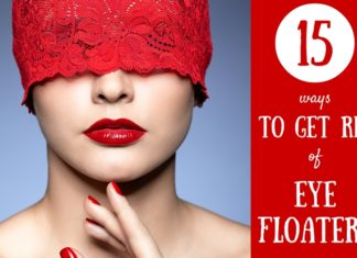 how to get rid of eye floaters - 15 natural ways