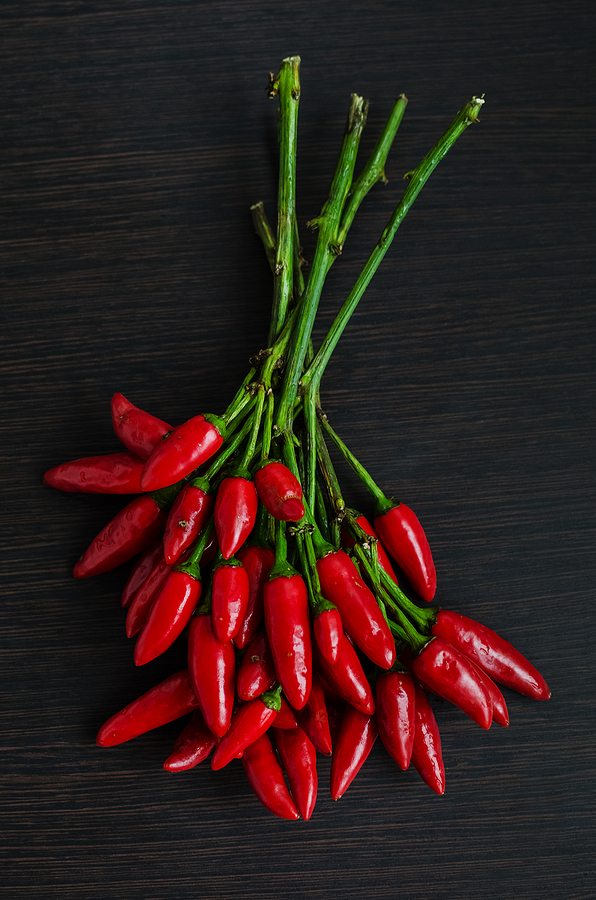 Red hot mini peppers