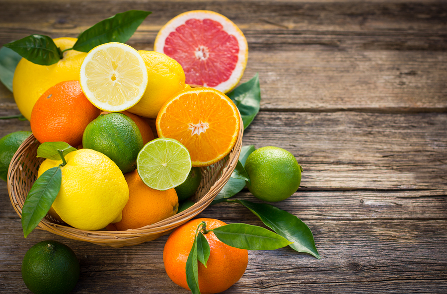 citrus fruits for bunions