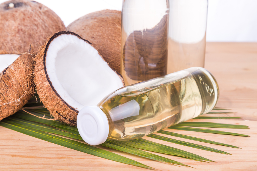 extra virgin coconut oil to get rid of keloids scars