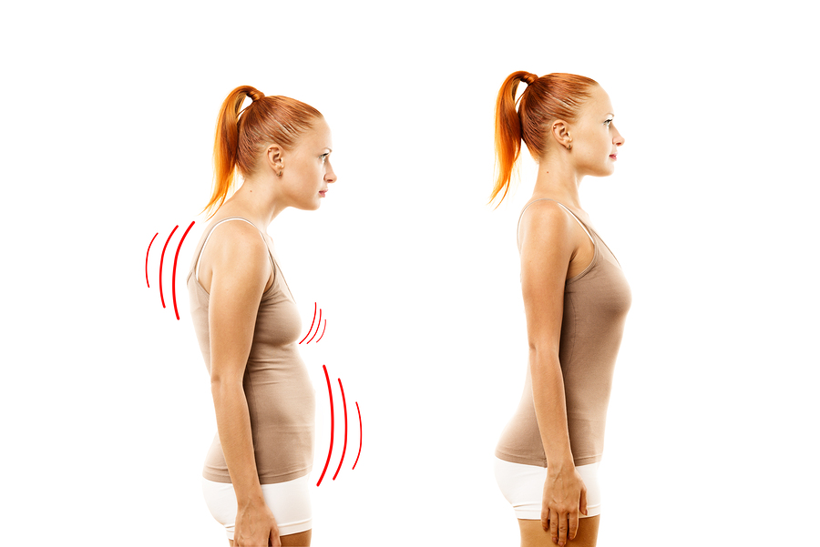 posture and armpit fat