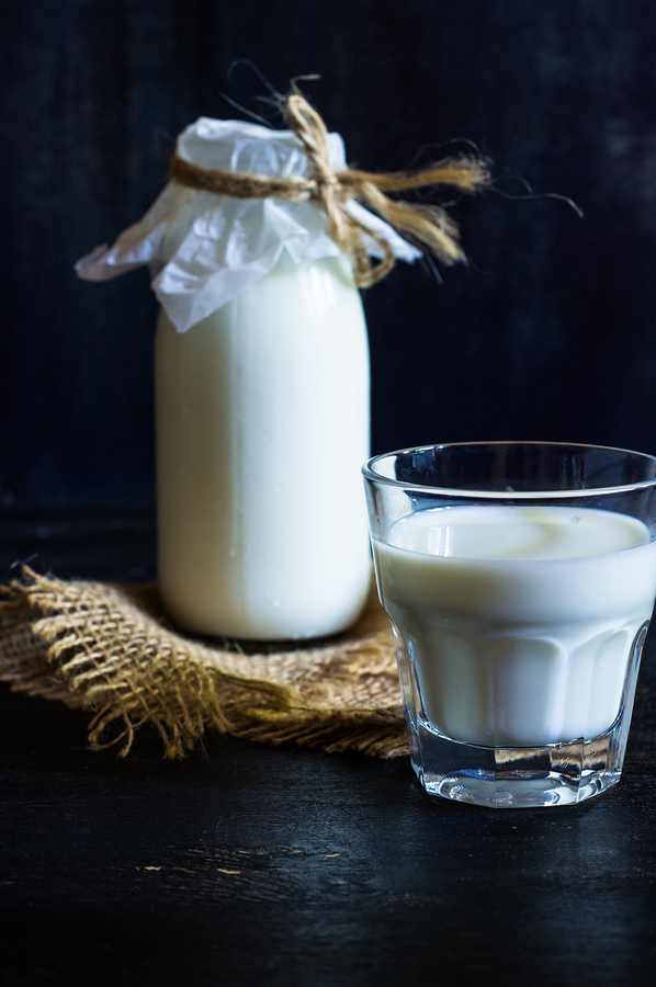 get rid of garlic breath with milk