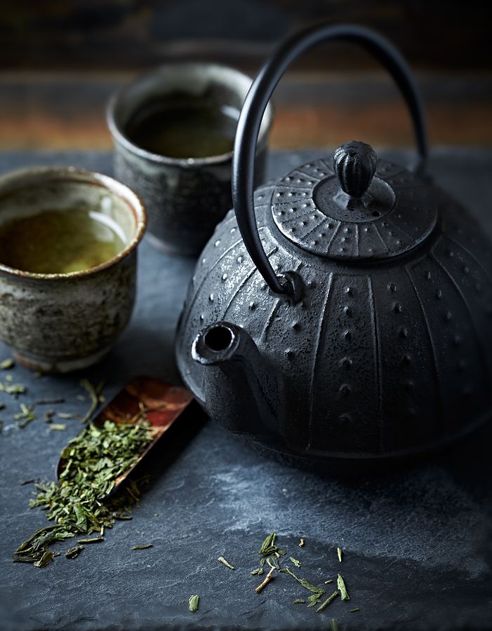 green tea for garlic breath