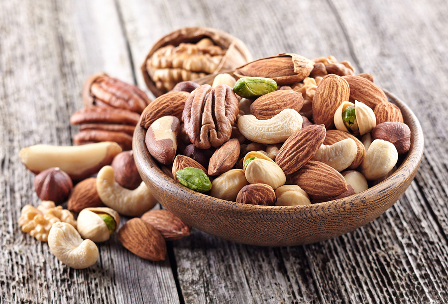lean protein nuts mix to burn inner thigh fat faster