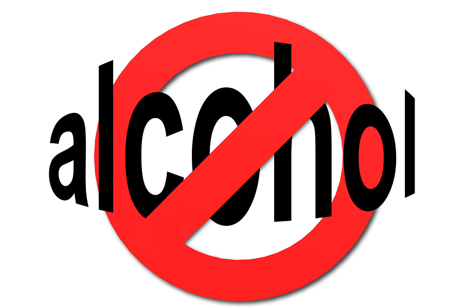 no alcohol for an healthy lifestyle