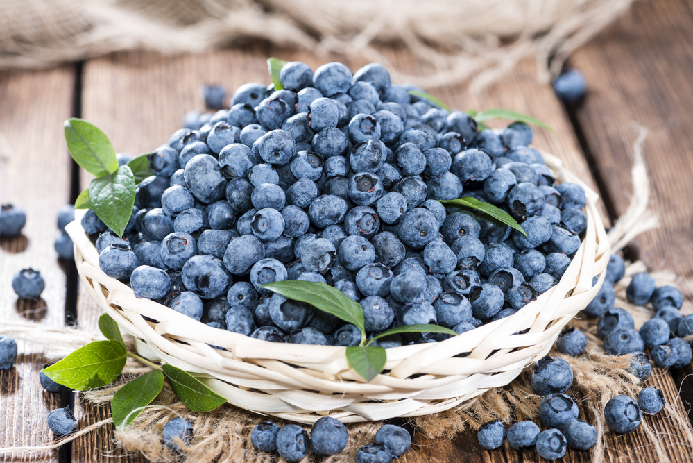 Blueberries - home remedies for UTI