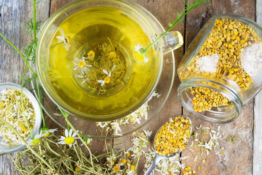 Feverfew Tea -home remedy for headaches