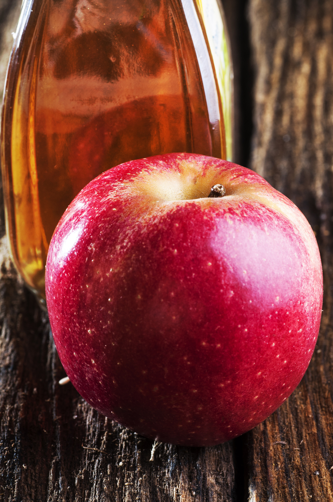 apple cider vinegar - home remedies for UTI