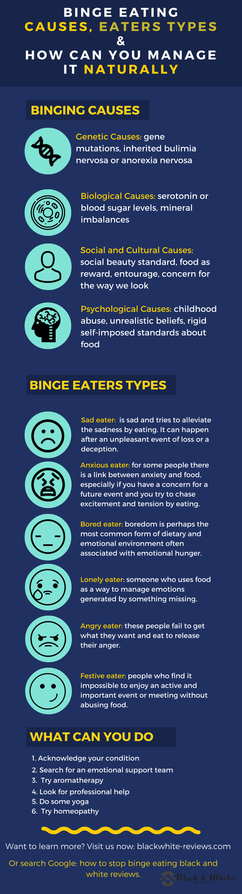 binge eating- causes, binge eaters types & how to stop it naturally