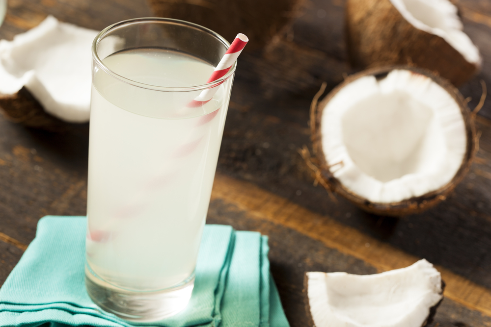 coconut water to get rid of diarrhea