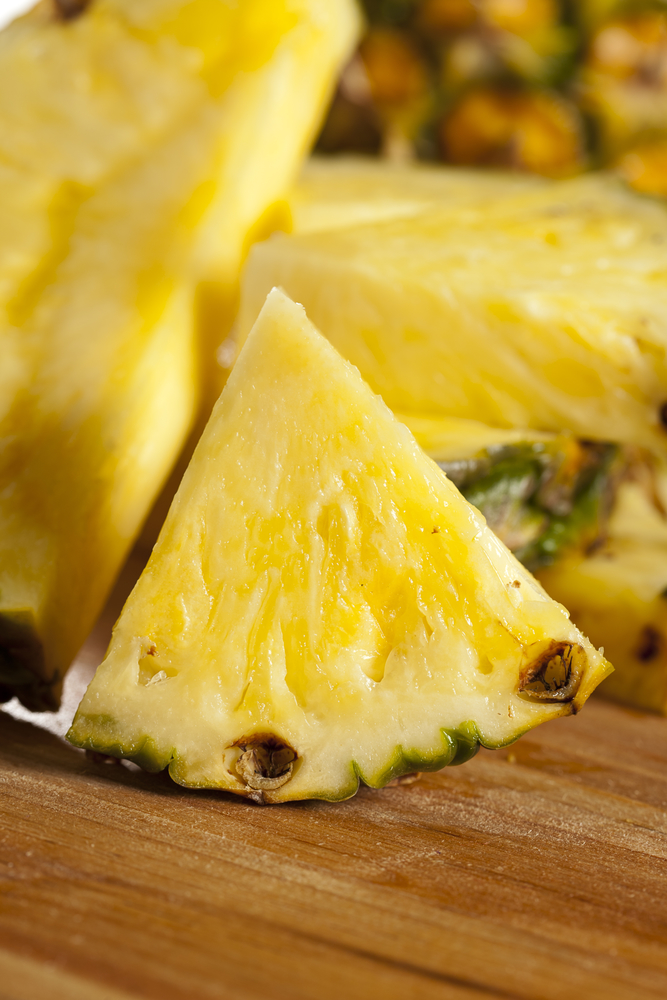 fresh pineapple - home remedies for urinary track infection