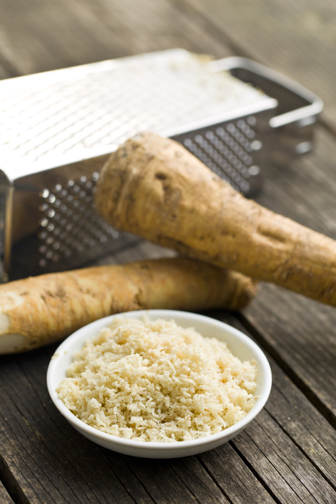 horseradish root - home remedies for UTI