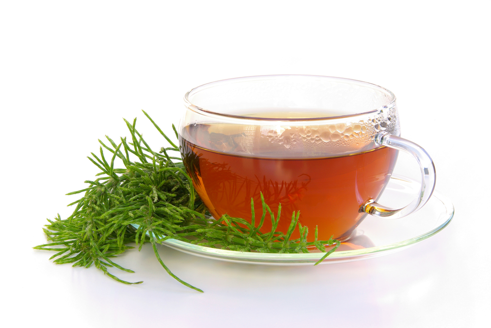 horsetail tea - home remedies for UTI