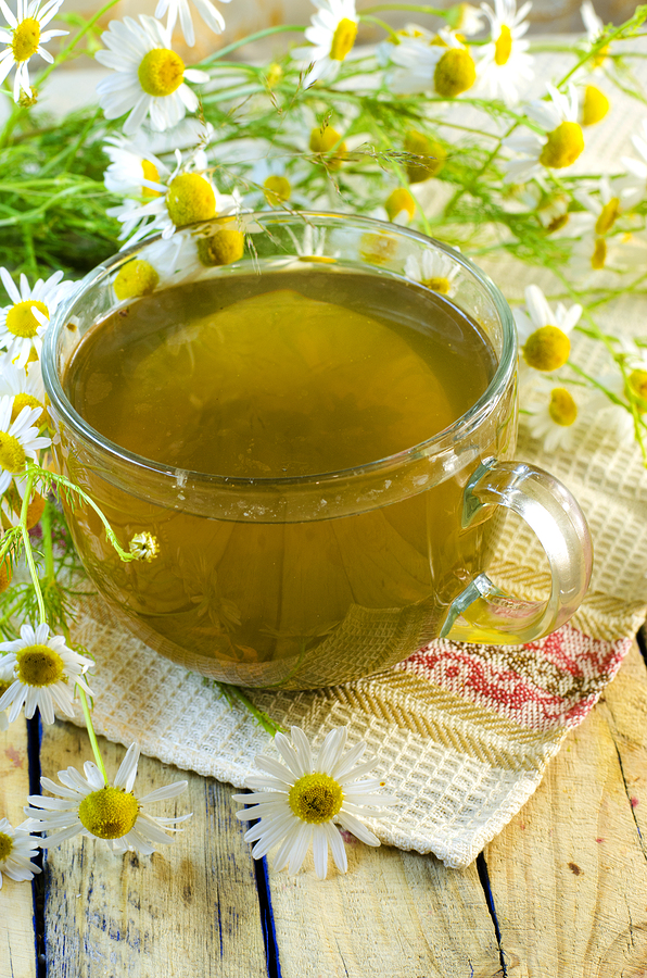 how to get rid of a strep throat with chamomile tea